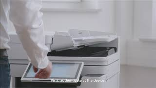 Automated batch scanning with Filing Assist in uniFLOW Online