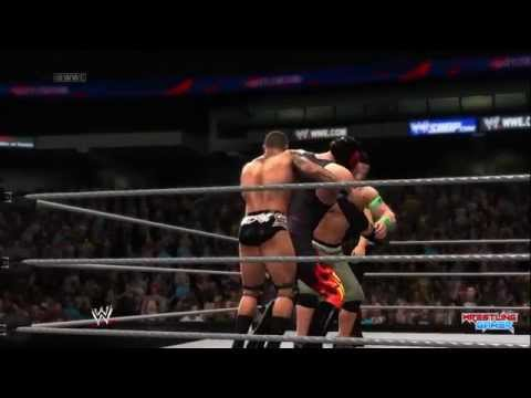 Wwe Battleground 2014 Fatal 4 Way Wwe World Heavyweight Championship Match Result! video