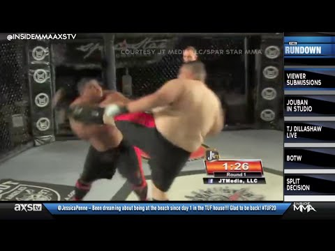 Awesome Knockouts and Super Heavyweights in Viewer Submissions on Inside MMA