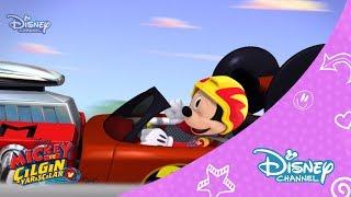Mickey ve Çılgın Yarışçılar - Mickey'nin Kaçak Lastiği (1.Bölüm)
