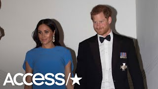 Meghan Markle Is Dripping In Diamonds & Showing Off Her Baby Bump | Access