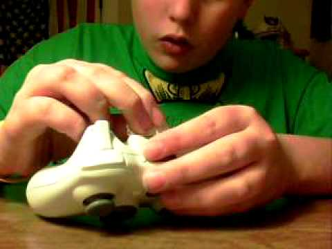 How to fix a broken xbox360 controller back