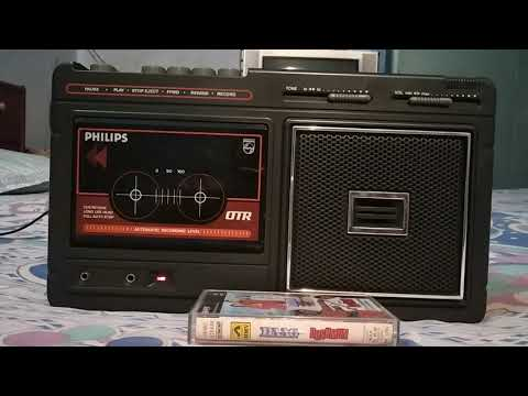 Jab Bhee Jee Chahe Nail Duniyan Basa Lete Hai Log-Played on my PHILIPS AM 174 cassette player.