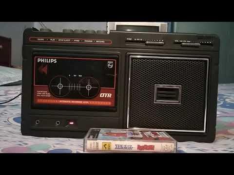 Jab Bhee Jee Chahe Nail Duniyan Basa Lete Hai Log-Played on my PHILIPS AM 174 cassette player.