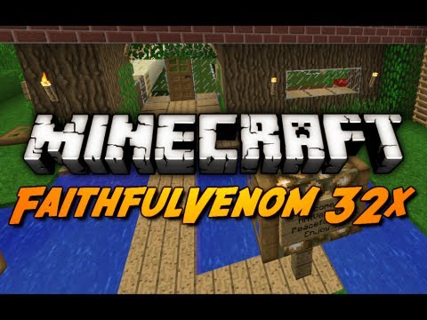 Minecraft: FaithfulVenom 32x Download! (Setup Overview)
