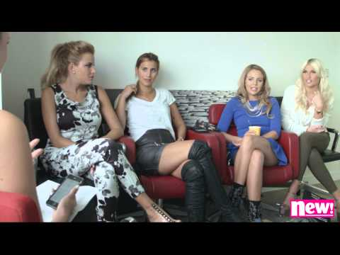 new! – TOWIE girls interview – Billie Faiers, Lydia Bright, Ferne McCann & Georgia Kousoulou