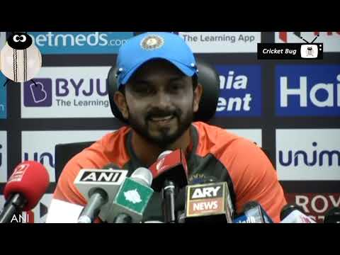 Kedar Jadhav interview after india vs pakistan match asia cup 2018
