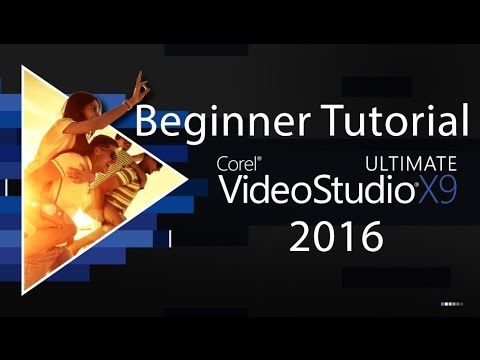 Corel VideoStudio X9 Tutorial   Beginner to Advanced   Editing Video
