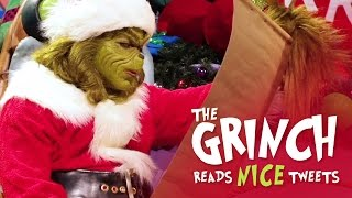 The Grinch Reads Nice Tweets | Universal Orlando