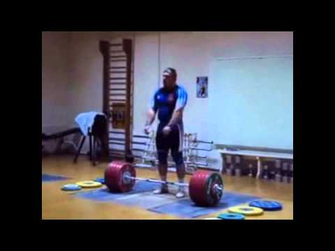 Dmitriy Lapikov 215kg Snatch + 251 Clean and Jerk Image 1