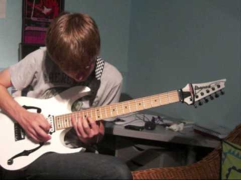 Rusty Cooley Sweep Picking Arpeggios by Elliot Noble