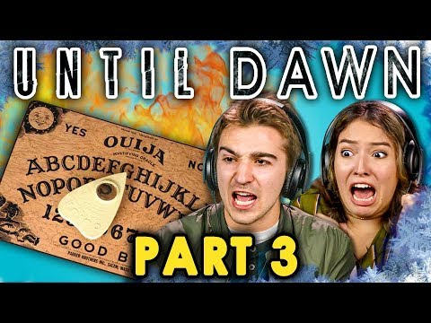 DEADLY SPIRITS! | UNTIL DAWN - Part 3 (React: Let's Plays)