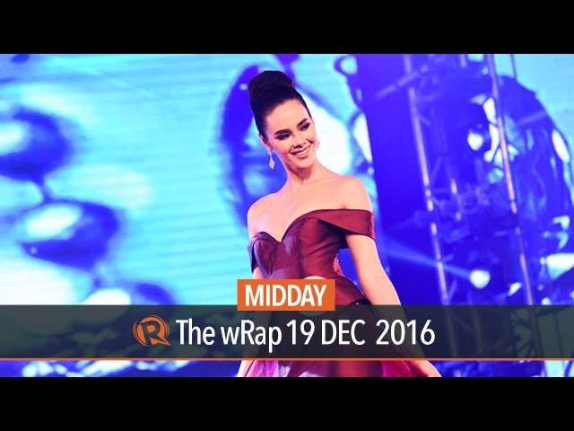 Top 5 finish for PH's Catriona Gray at Miss World 2016