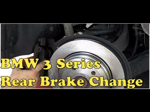 BMW Rear Brake Repair (E46) MillerTimeBMW - DIY 8