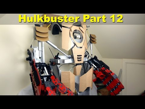 XRobots - Iron Man HULKBUSTER Cosplay Part 12, bicep details, shoulder bells