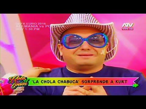 HOLA A TODOS 16/06/16 'LA CHOLA CHABUCA' HIZO LLORAR A 'METICHE' CON ESTA CONMOVEDORA SORPRESA