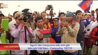 Campuchia khiếu nại việc Việt Nam xây đồn ở vùng biên có tranh chấp
