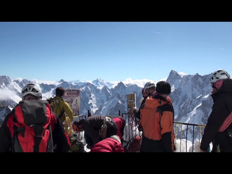 Aiguille du Midi 2014 Trip, Tour Reservation, Panorama and all details