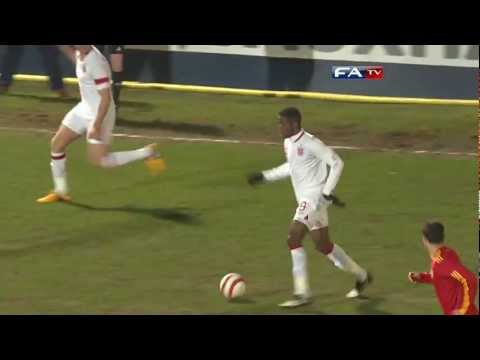 England U21s vs Romania 3-0