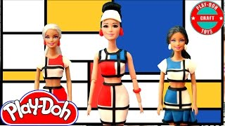 Play Doh Katy Perry - This Is How We Do M/V Inspired Costume Play-Doh Craft N Toys