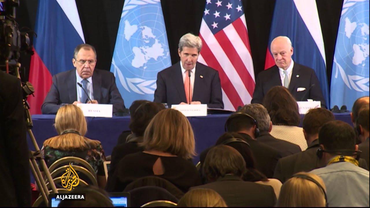 Syria agreement: Cessation of hostilities within week