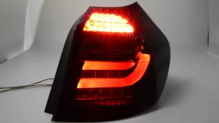 SW-Celis LED Rückleuchten 1er BMW E87 E81 black/smoke SW-Tuning Lightbar