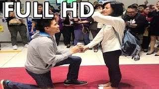 [FULL HD] Bianca Gonzales proposal video @ NAIA with JC Intal