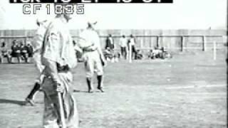 Baseball New York Giants John McGraw and Christy Mathewson