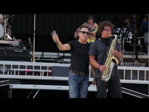 Bruce Springsteen&The E Street Band soundcheck in Seville