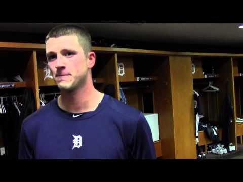 Drew Smyly Tigers Reliever postgame v.s. Minnesota 4/29/13