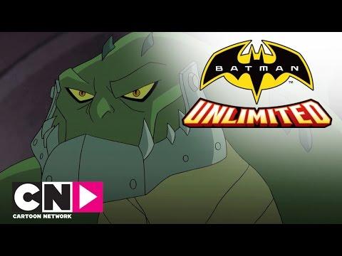 Красный Робин и Найтвинг побеждают Убийцу Крока | Бэтмен без границ | Cartoon Network