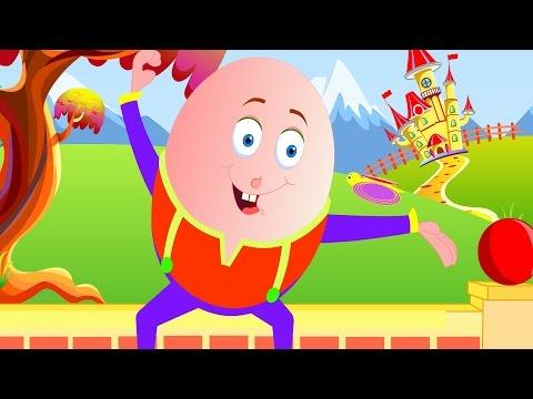 Humpty Dumpty Sat On a Wall  | Nursery Rhymes for Children | Little Kids Tv