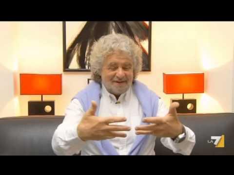 """Intervista di Beppe Grillo alla tv turca TRT """"Servizio Pubblico 21 03 2013″"""