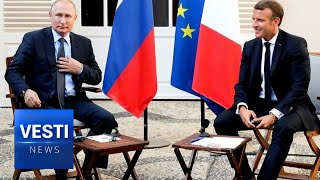 Putin and Macron Meet For Bilateral Talks! No Point Talking Issues Without Russia's Support!