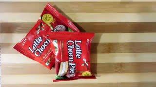 lotte choco pie hack | choco pie in microwave