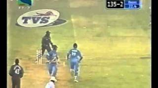 India v West Indies 4th ODI 2002 Indian innings!!!!!