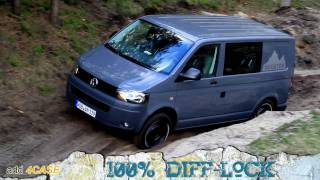 Off Road Test Drive - VW T5 Rockton 4Motion Expedition (FULL HD 1080p)