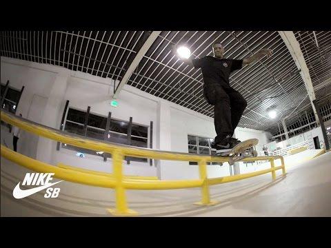 Nike SB Warehouse | Ishod Wair, Alex Olson, Shane O'Neill, Ben Raybourn & crew