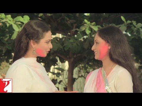 Holi Scene - Holi Scene No 3 - Silsila | Amitabh Bachchan | Rekha