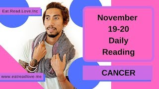 """CANCER SOULMATE """"ARE THEY THAT BUSY?"""" NOVEMBER 19-20 DAILY TAROT READING"""