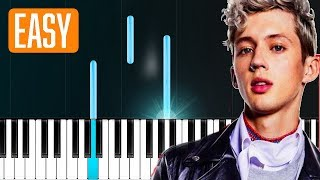"Download Lagu Troye Sivan - ""My My My"" 100% EASY PIANO TUTORIAL Gratis STAFABAND"