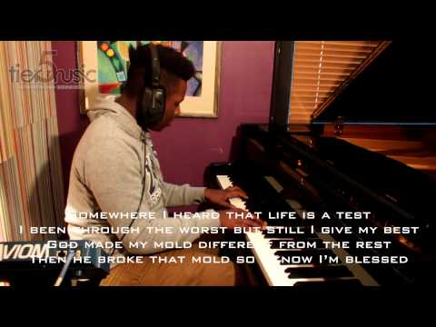 Aloe Blacc - The Man (Piano Cover with Lyrics and Download)