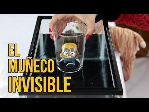 El Muñeco Que Se Hace Invisible (Experimentos Caseros Para Niños)
