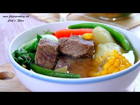 how to cook nilagang baboy