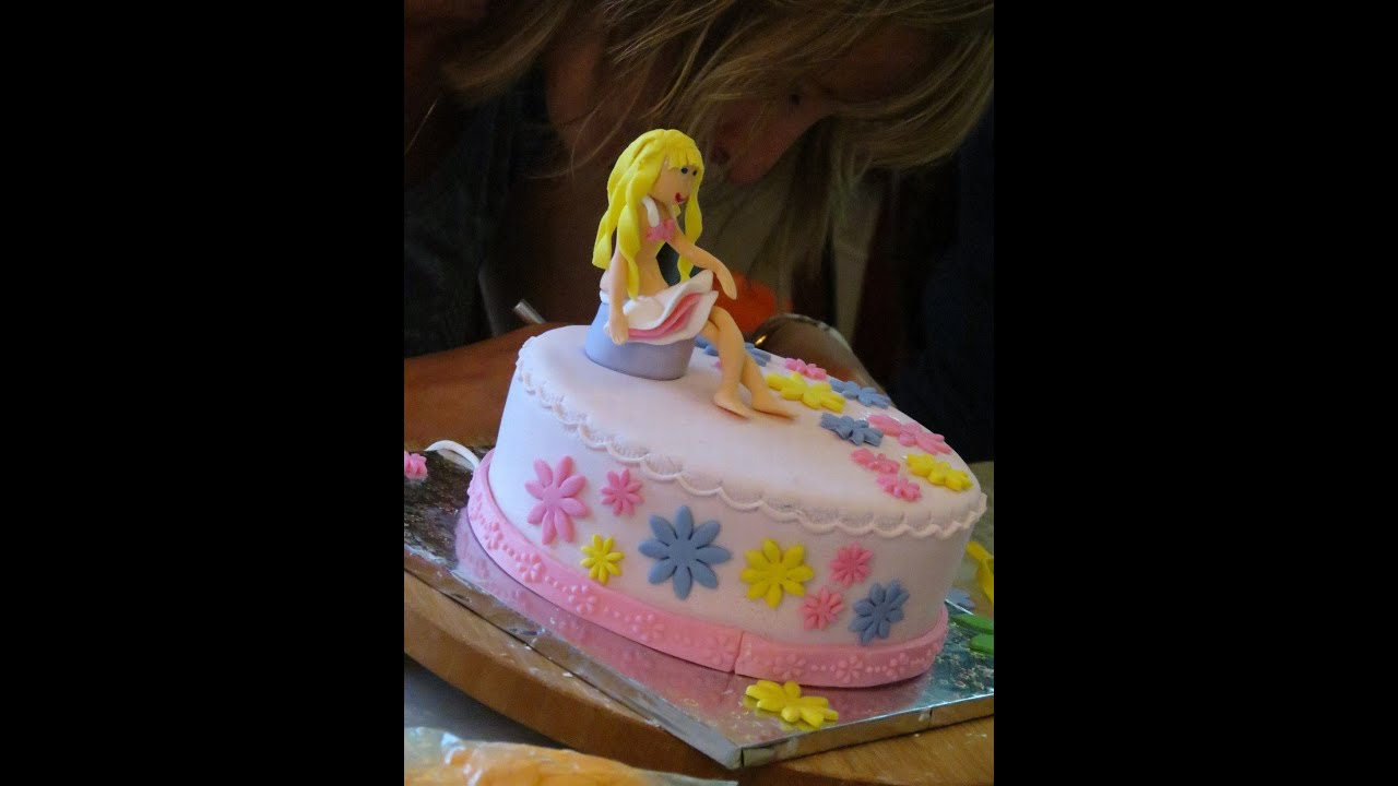 Fondant cake decorating workshop for beginners with ...