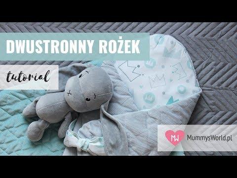Jak Uszyć Dwustronny Rożek?  | Mamy Szyją! | Mummys.World