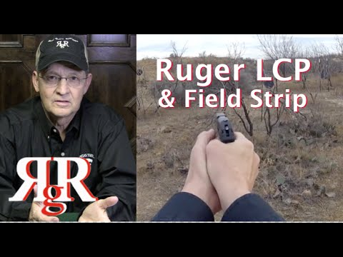 Ruger LCP .380  Review and Field Strip - pre2013