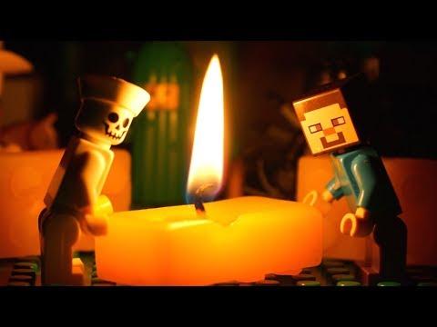 LEGO СВЕЧКА и Лего Нубик Майнкрафт Мультики Все Серии Подряд Мультфильмы СБОРНИК для Детей DIY