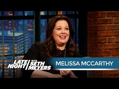 Melissa McCarthy Got Injured in the Most Ridiculous Way on the Spy Set - Late Night with Seth Meyers