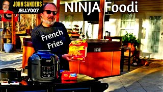 NINJA Foodi FRENCH FRIES Ore Ida Extra Crispy & Crinkle Cut French fry AIR FRYER CRISPER